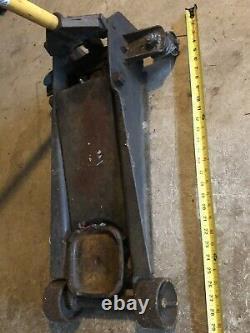 Old 3 Ton Heavy Duty Steel Ultra Low Profile Floor Jack