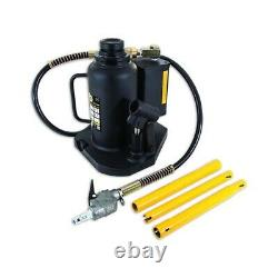 Omega 20 Ton Air Operated Bottle Jack Heavy Duty Professional