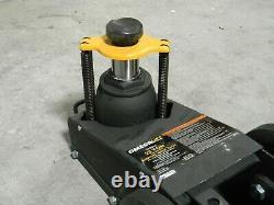 Omega Lift Heavy Duty Air Hydraulic Axle Jack 22 Ton Capacity 23221C No Handle