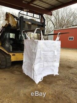 Pallet Of Heavy Duty FIBC Bulk Super Sack 2Ton Bag Woven Polypropylene Bulk Bag