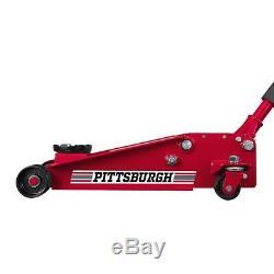 Pittsburgh 3 ton Heavy Duty Floor Jack Rapid Pump