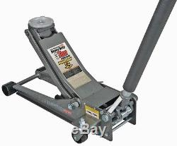 Pittsburgh Floor Jack Automotive 3 ton Low Profile Steel Heavy Duty Rapid Pump