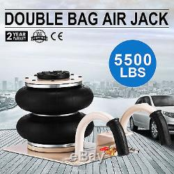 Portable 2.5 Ton lifts Triple stage Bag Air go Jack frame alignment car truck