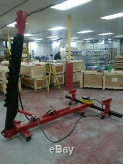 Portable Auto Body Puller Frame Straightener free clamps FREE 3 TON AIR GO JACK