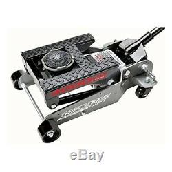 Portable Car Lift 2 Ton Floor Jack Triple 4000lb Hydraulic Automotive Heavy Duty