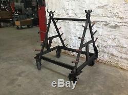 Portable Heavy Duty Cantilever Rack Cart 2 Ton Capacity 40x52x54.5