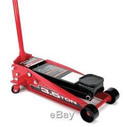 Powerbuilt 3-1/2 Ton Professional Floor Jack, Garage, Heavy Duty 647530