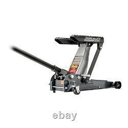 Powerbuilt Heavy Duty 3in1 3000 lb 1.5 Ton Triple Lift Floor Jack (Refurbished)