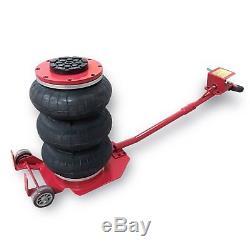 Quick Lift Triple Bag Air Bag Jack 3 Ton Auto shop Tire Shop HEAVY DUTY