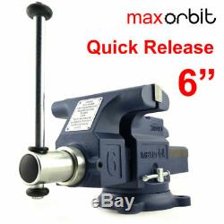 Quick Release 6 150mm Heavy Duty Engineers Bench Vise 2 Ton Semi Precision