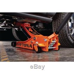 Rapid Pump Lift Car Vehicle Garage Shop 4 Ton Heavy Duty Steel Floor Jack