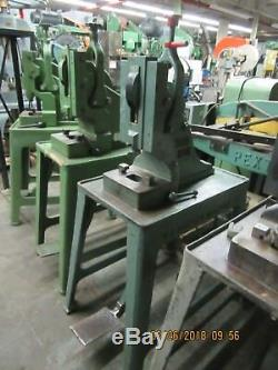 Ruesch Type 7-Ton Heavy Duty Foot Stamping Kick Press, Model # 7- SEVERAL