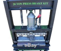 SWAG 20 TON 20.5 UK Spec Heavy Duty Finger Brake DIY Builder Kit