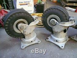 Set of Four Aerol SCRHD 1036 Heavy Duty 1/2 Ton 10.5 Inch Swivel Casters