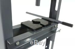 Shop Press Heavy Duty Hydraulic Workshop Garage Floor Standing 12 Ton Pressing