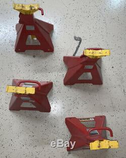 Snap on Jack stands USA Made Heavy Duty 5 ton 6