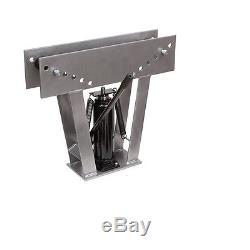 TUBING BENDER ROLL CAGE/16 TON HYDRAULIC PIPE 8 Dies HEAVY DUTY Bend up to 3