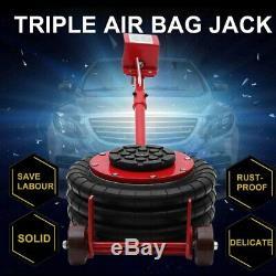 Triple Bag Air Jack Pneumatic 6600LBS Quick Lift 3 Ton Heavy Duty Jacking TN