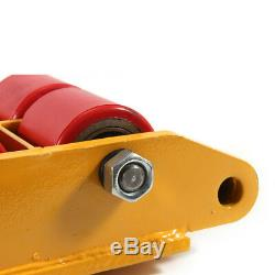 US Industrial Machinery Mover 4x 6 Ton Heavy Duty Machine Dolly Skate Roller HOT