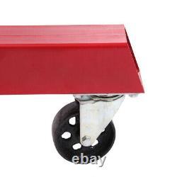 Used 4400lb Heavy Duty Engine Motor Hoist Cherry Picker Shop Crane Lift 0.5-2TON