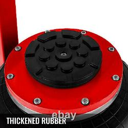 VEVOR Triple Air Bag Jack Pneumatic Jack 6600lbs Quick Lift 3 Ton Heavy Duty Red