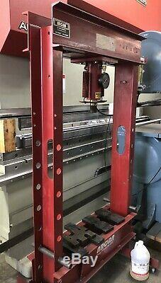 Wow! Arcan Cp400 Heavy Duty 40-ton Hydraulic H-frame Shop Press 2 Speed