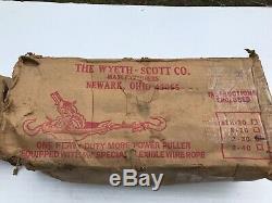 Wyeth-Scott 2-30 Heavy Duty More Power Puller 2-Ton Capacity NICE